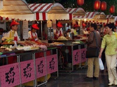 Beijing Food Street-王府井