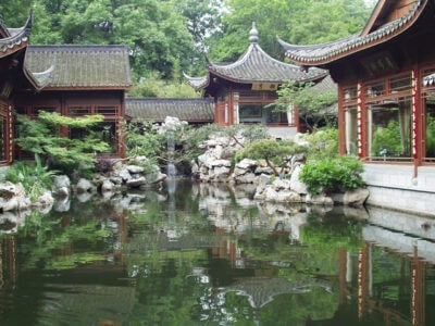 Hangzhou-Garden at West Lake (杭州-西湖)