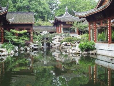 Hangzhou-Garden at West Lake (杭州-西湖)