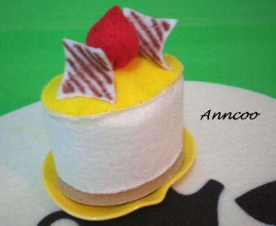 Felt Mango & Oreo Cheesecakes
