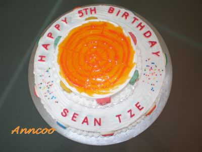 Birthday Cake for Seantze