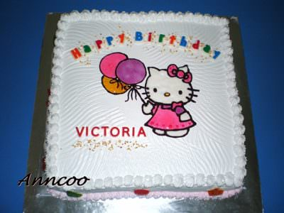 Birthday Cake for Victoria