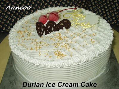 Durian Birthday Cake Recipe