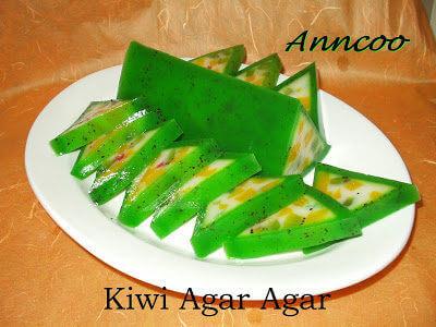 Kiwi Agar Agar
