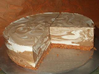 Marble Cheesecake (non-bake)