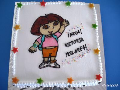 Birthday Cake for Victoria