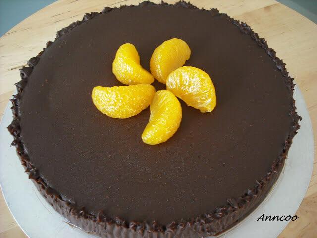 oranger chocolate cake