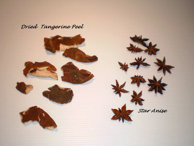 Dried Tangerine Peel n Star Anise