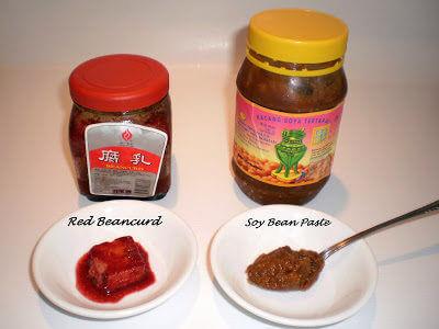 Red Beancurd n Soy Bean Paste