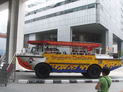 Ride On The Wacky Duck Tour