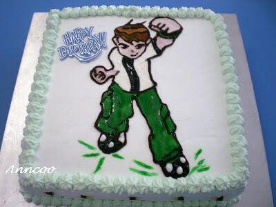 Birthday Cake – Ben 10
