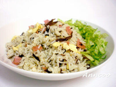 Fried Rice with Olive Vegetables 橄榄菜炒饭
