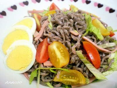 Light Meal – Purple Wheat Noodles
