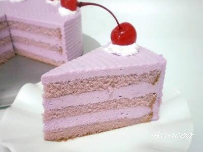yam mousse cake