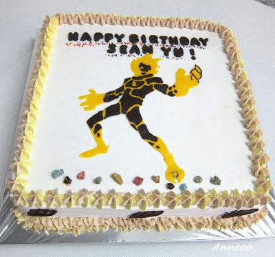 Birthday Cake – Ben 10 Heatblast