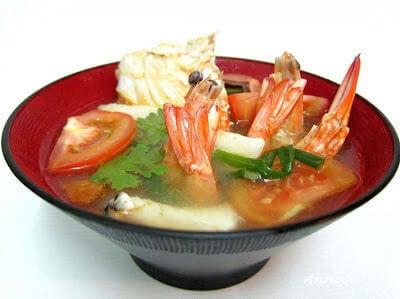 Seafood Soup 海鲜汤