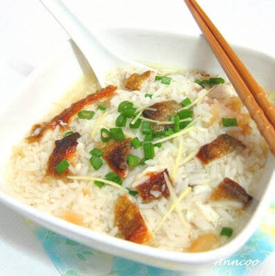Black Promfret Fish Congee/Porridge 黑昌鱼粥