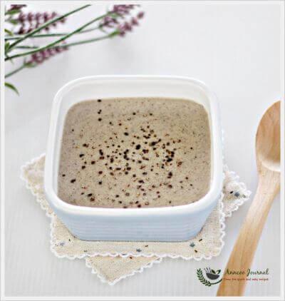 Light Meal – Creamy Mushroom Soup