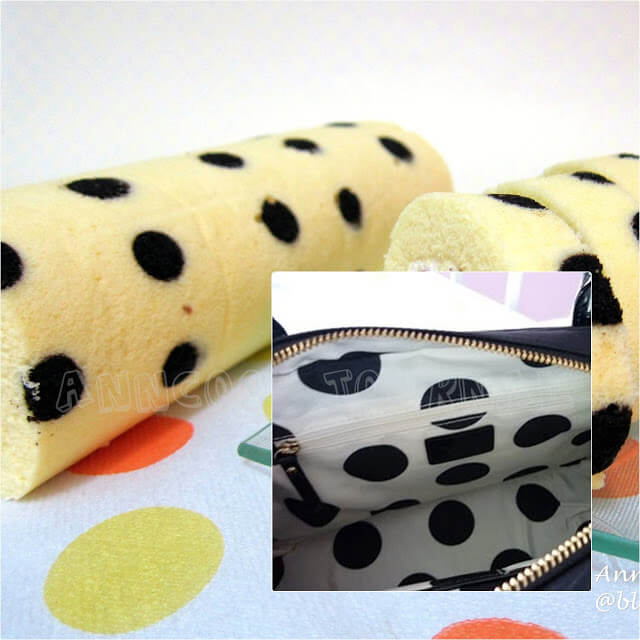 Cherry Polka Dots Swiss Roll Anncoo Journal