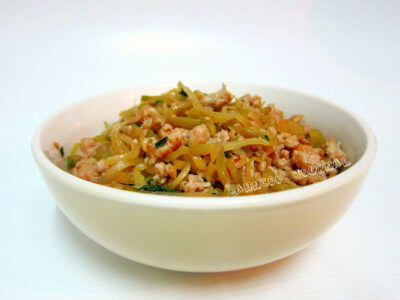Sichuan Pickled Mustard and Minced Meat榨菜猪肉粒