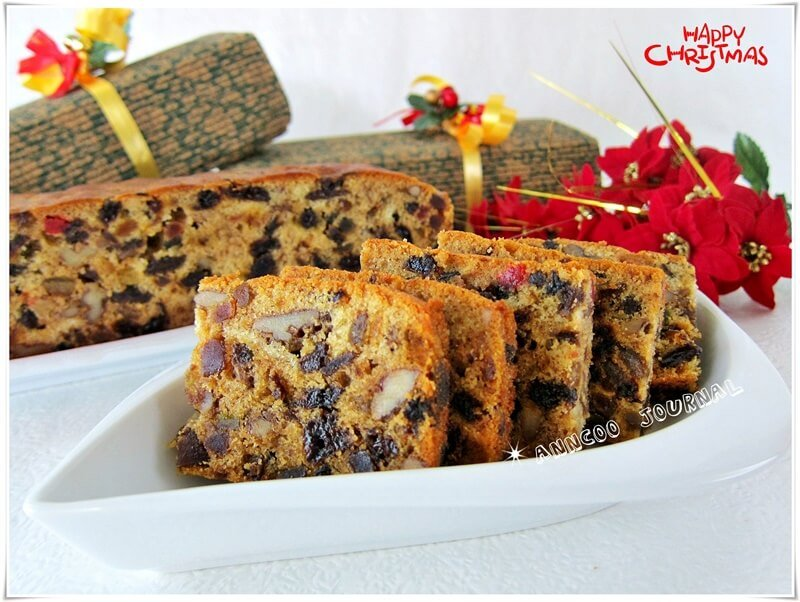 Anncoo Journal Fruit Cake
