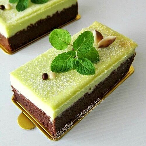 Chocolate Mint Cheesecake - Anncoo Journal