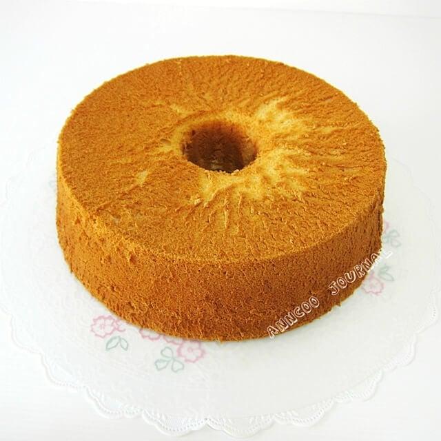 yuja chiffon cake