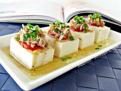 Guest Post ~ Tuna & Tofu Cold Dish