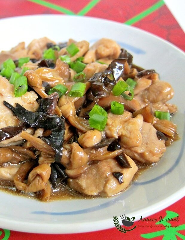 country style steam chicken