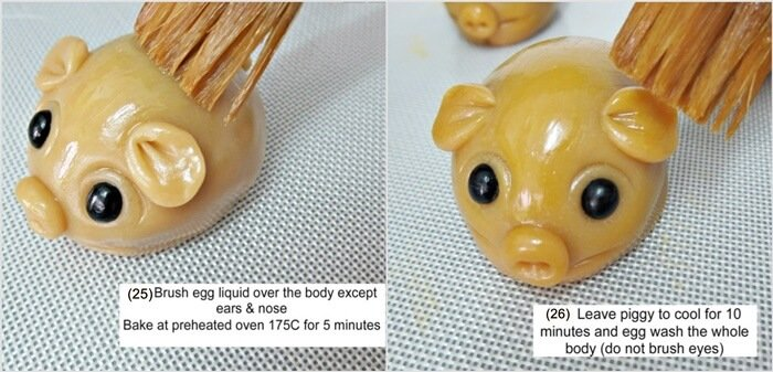 handmade piggy 1-14