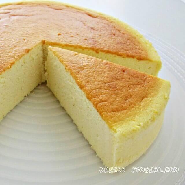 Vegan Cheese Cake Wiht Egga