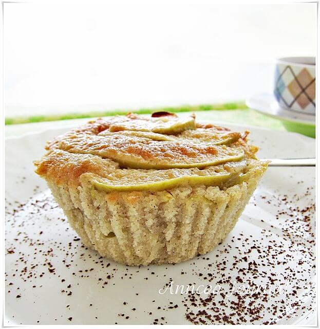 Italian apple cupcakes