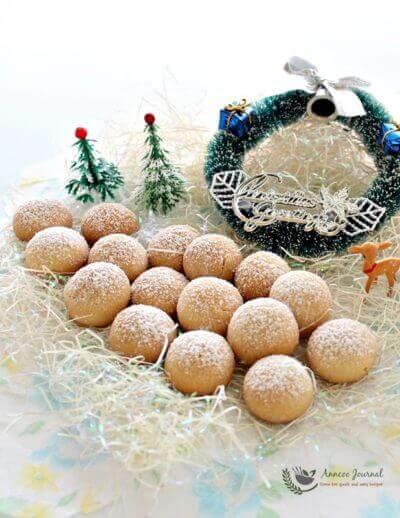 X'mas Snowball Cookies