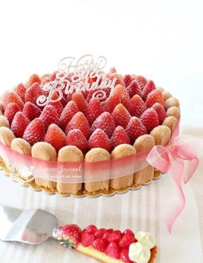 Charlotte Aux Fraises (Strawberry Charlotte) 草莓夏露蕾特