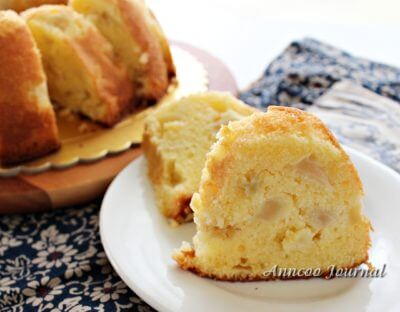 Apple Soft Pound Cake