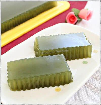 Honey Green Tea Jelly