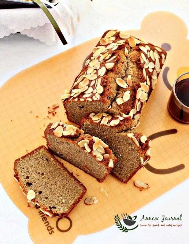 almond coffee pound cake