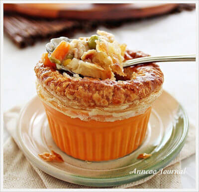 Chicken Pot Pie 田园杯式鸡肉派