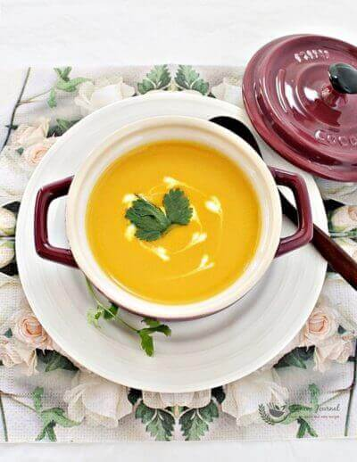 Easy Carrot Soup 简易胡萝卜汤