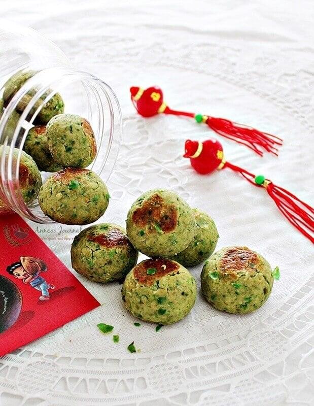 green pea cookies
