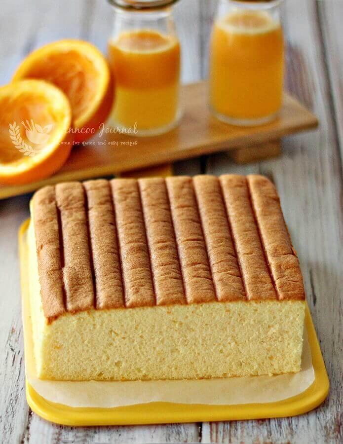 Orange Ogura Cake
