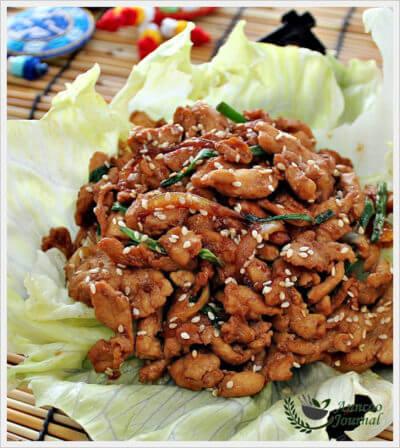 Chicken Bulgogi 韩式炒鸡柳