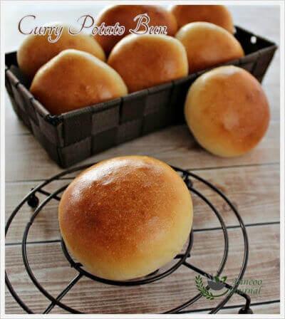 Curry Potato Buns 咖哩马铃薯面包