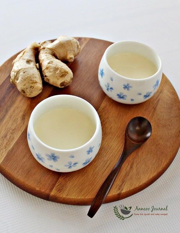 ginger milk pudding