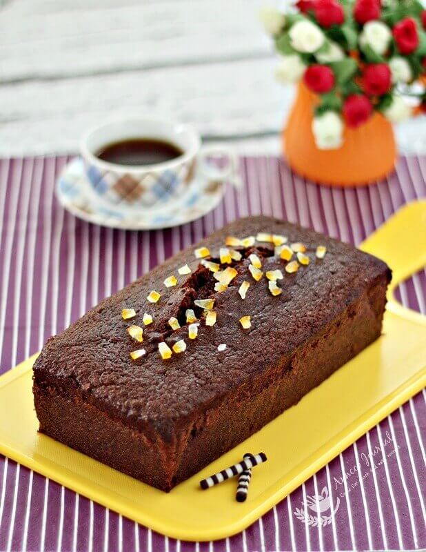 Nigella Lawson Chocolate Orange Loaf Cake Recipe