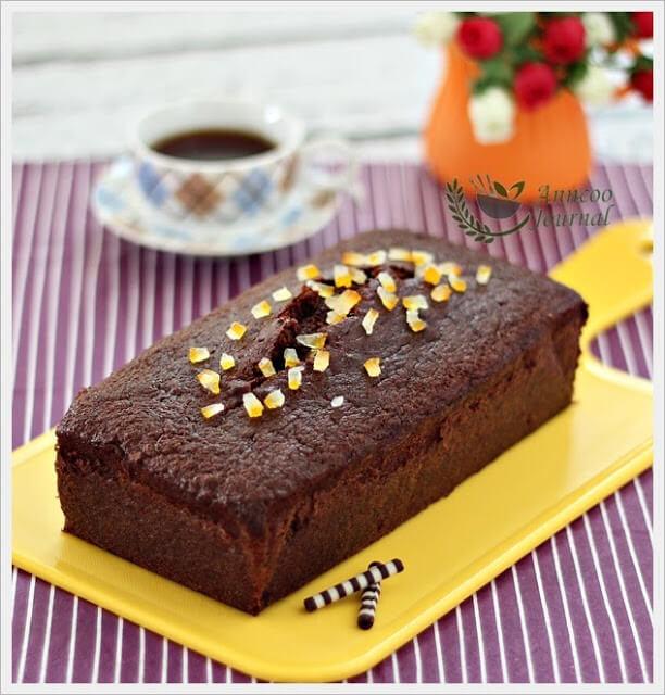 Nigella Lawson Chocolate Orange Loaf Cake Recipe