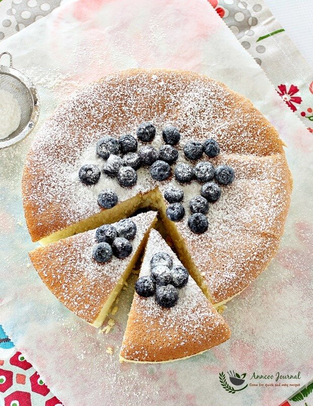 wheat free sponge cake