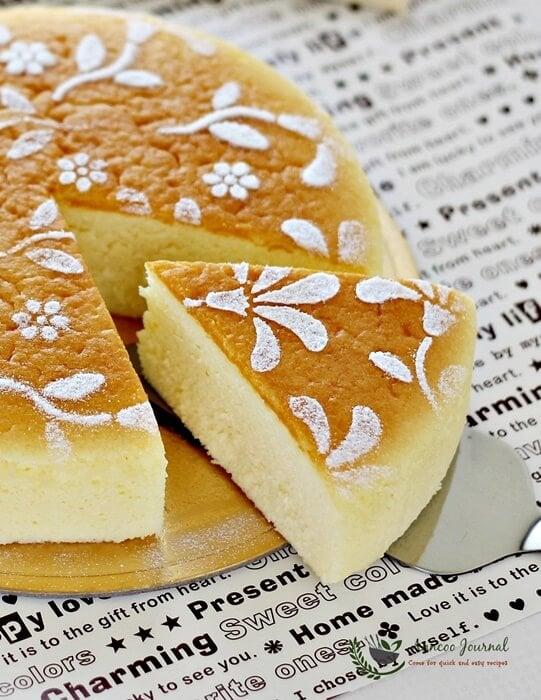 Soufflé Japanese Cheesecake