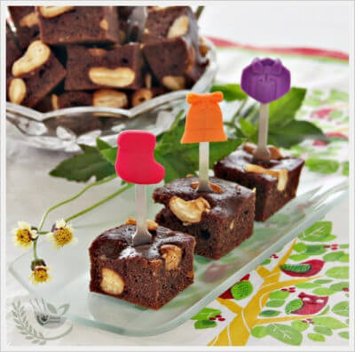 Extra Low-fat Brownies 超低脂布朗尼