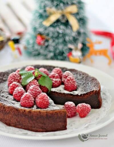 Flourless Chocolate Cake 无麸巧克力蛋糕